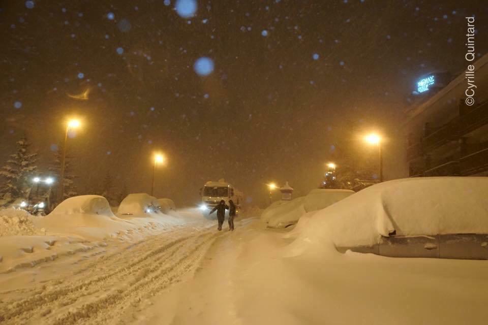Alpe d'Huez Feb. 3, 2017 - ©Cyrille Quintard