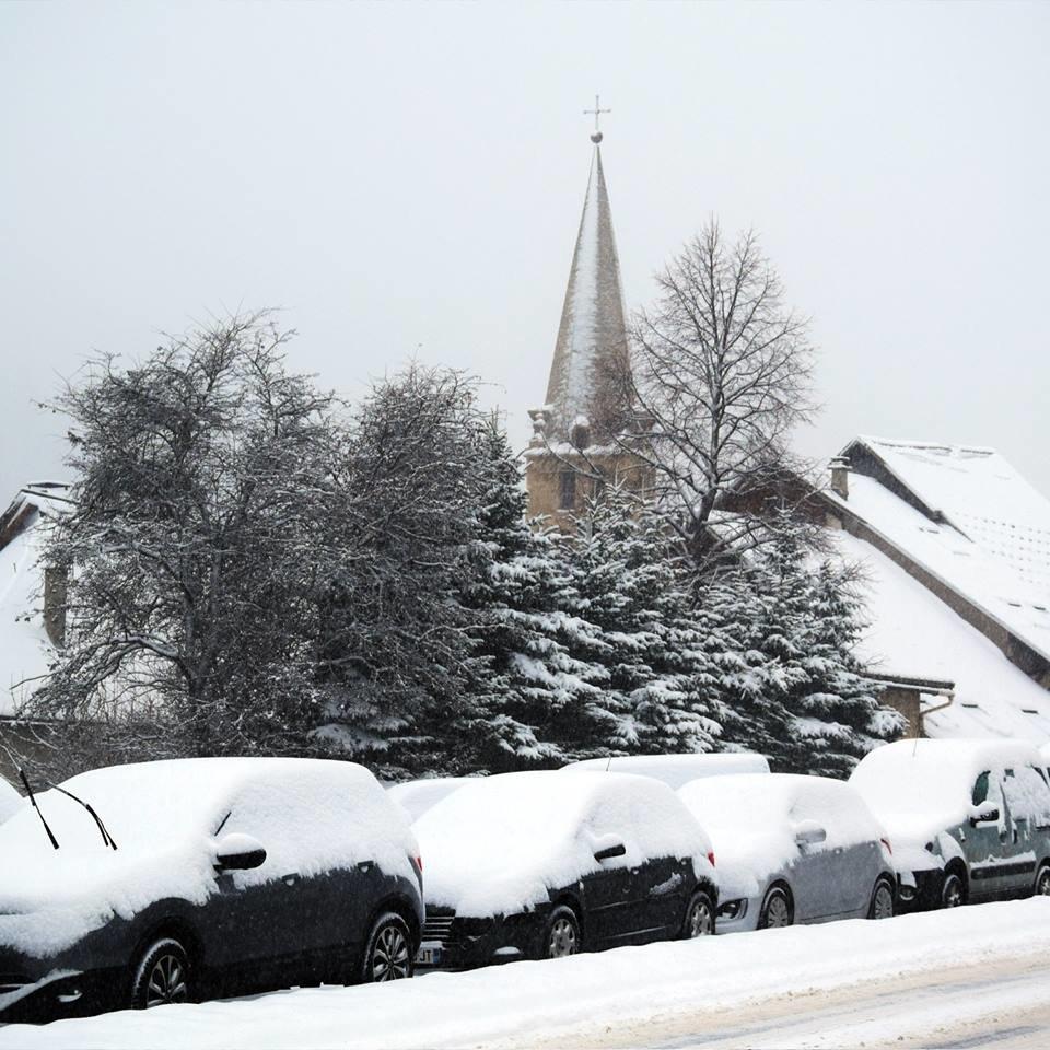 Serre Chevalier sous la neige (4 fév. 2017) - ©Serre Chevalier/Facebook