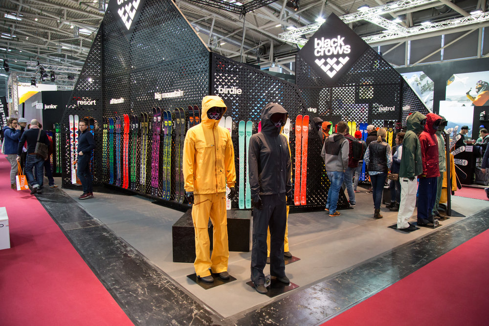 ISPO 2017 : Sur le stand Black Crows - ©Skiinfo