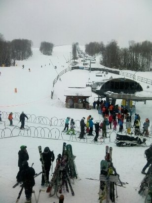Mt St Louis-Moonstone - Great snow today! snowing powder all day - ©anonymous