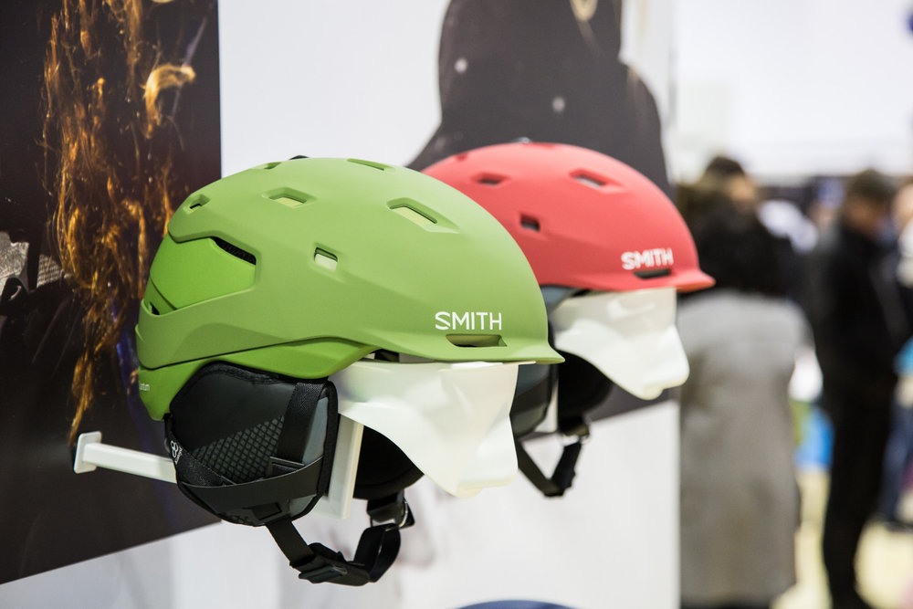 ISPO 2017 : Sur le stand Smith - ©Skiinfo