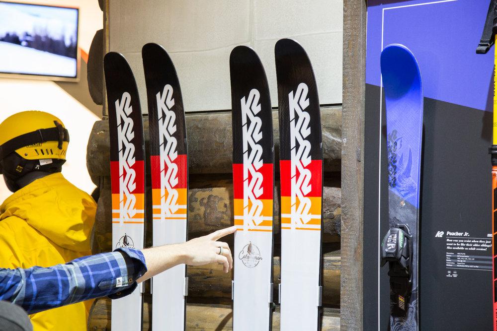 K2 Freeride-Ski in Deutschland-Optik - ©Skiinfo