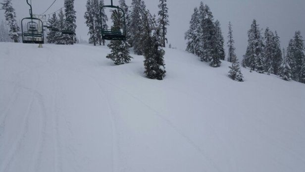 Ski China Peak - A little wet but getting better! - ©anonymous