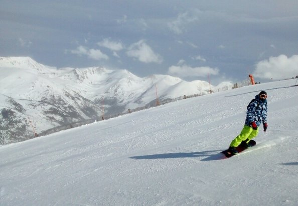 Grandvalira - Great snow conditions, wind closed the top lifts in the afternoon. - ©Darkwater