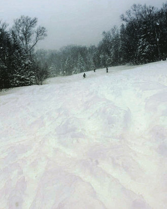 Sugarloaf - Whoever wasn't here yesterday missed the most epic powder day ever at sugarloaf - ©Leah Van Horn's iPhone