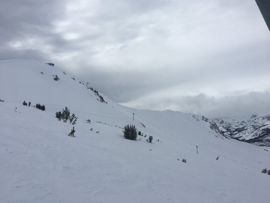 Mammoth Mountain Ski Area - Simply spectacular!!! Over 430 inches so far this season. Great coverage, dry snow with more on the way. March-June will be epic!  - ©Daniel's iPhone