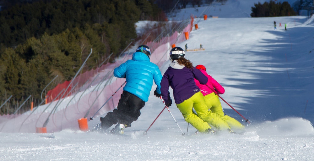 Sur les pistes de ski de Espot Esquí - ©Station de ski de Espot Esquí