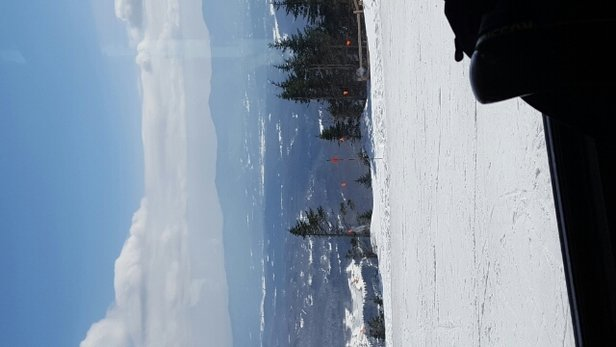 Stowe Mountain Resort - no lines. spring conditions not a bad day   - ©skibumbb