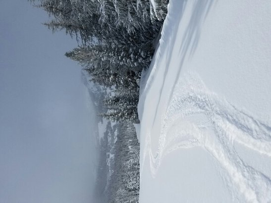 Kirkwood - lightest pow I've ever skied @ Kirkwood. fantastic.  - ©mendo crew