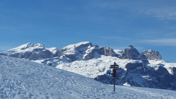 Alta Badia - Corvara - La Villa - S. Cassiano - la lla, piste perfette. La gran risa uno spettacolo. - ©Bizio0803