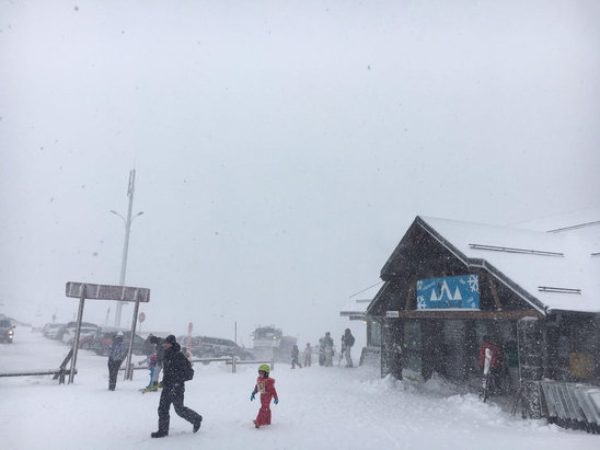 Le Mont Dore - Most of the resort is currently closed due to high winds - ©Freds iphone 6