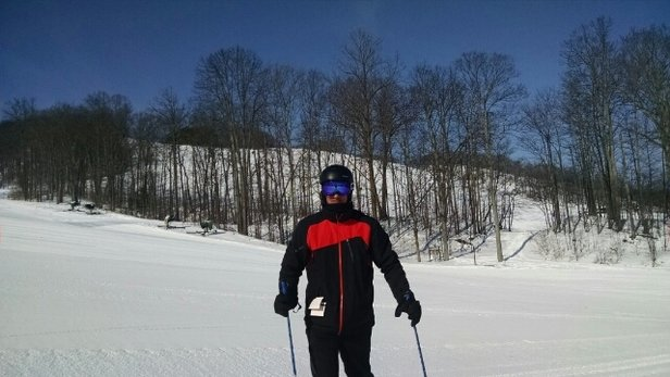 Boyne Mountain Resort - good snow, bluebird day, oh yea, Sunday was awesome at the mountain!!  - ©rich.r.bland