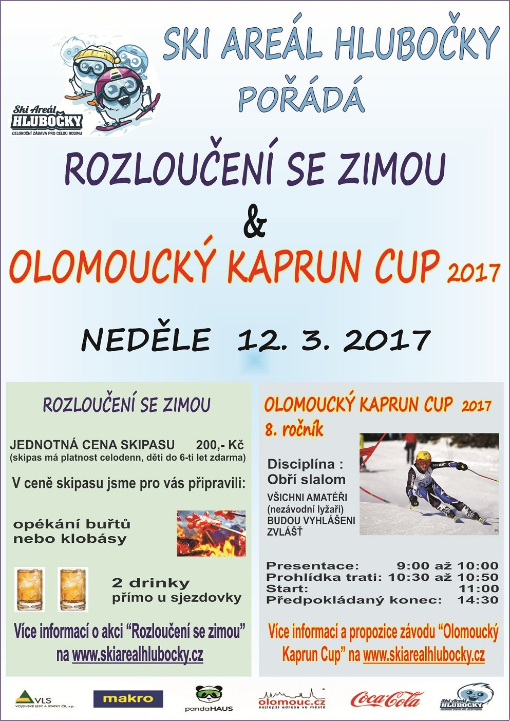 Olomoucký Kaprun Cup 2017 - ©Ski areál Hlubočky