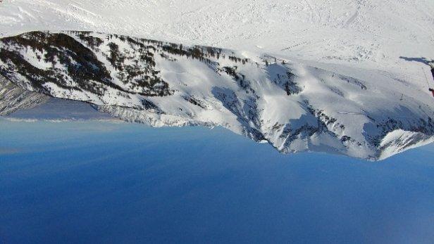 Snowbird - Frozen until around noon spring skiing until it glazes over. Ripping groomers all day.  - ©Jerel