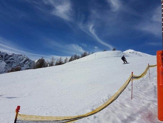 Puy Saint Vincent - Bonne neige ..surtout le matin - ©Jean jacques