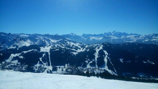 Les Gets - magnifique vue du mont chery  - ©frafac.mob