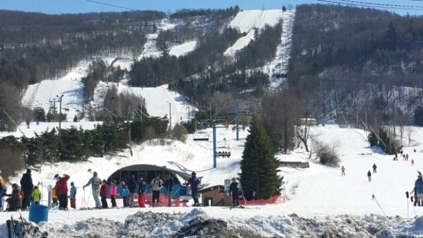 Blue Mountain Resort - Great morning at Blue today best conditions of the season plus $17.00 for 4 hour Saint Patricks.   day tickets  - ©joe.s.szabo