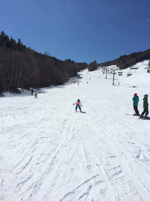 Mount Sunapee - Great day at Waterville valley March 17 - ©Matthew's iPhone 5S