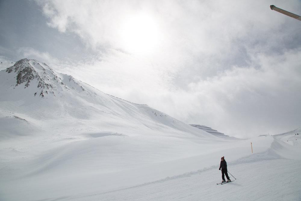 Im Skigebiet Masnerkopf in Serfaus Fiss Ladis - ©Skiinfo