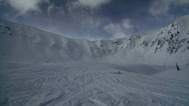 Kicking Horse - Sun and soft snow at the top.  Fantastic. - ©joerayven