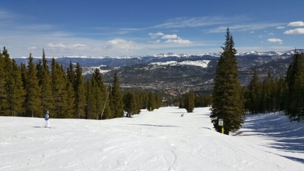 Breckenridge - some areas icy, but good conditions in my opinion. - ©anonymous