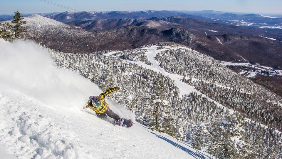Pow slayin' in the Northeast. - ©Jay Peak