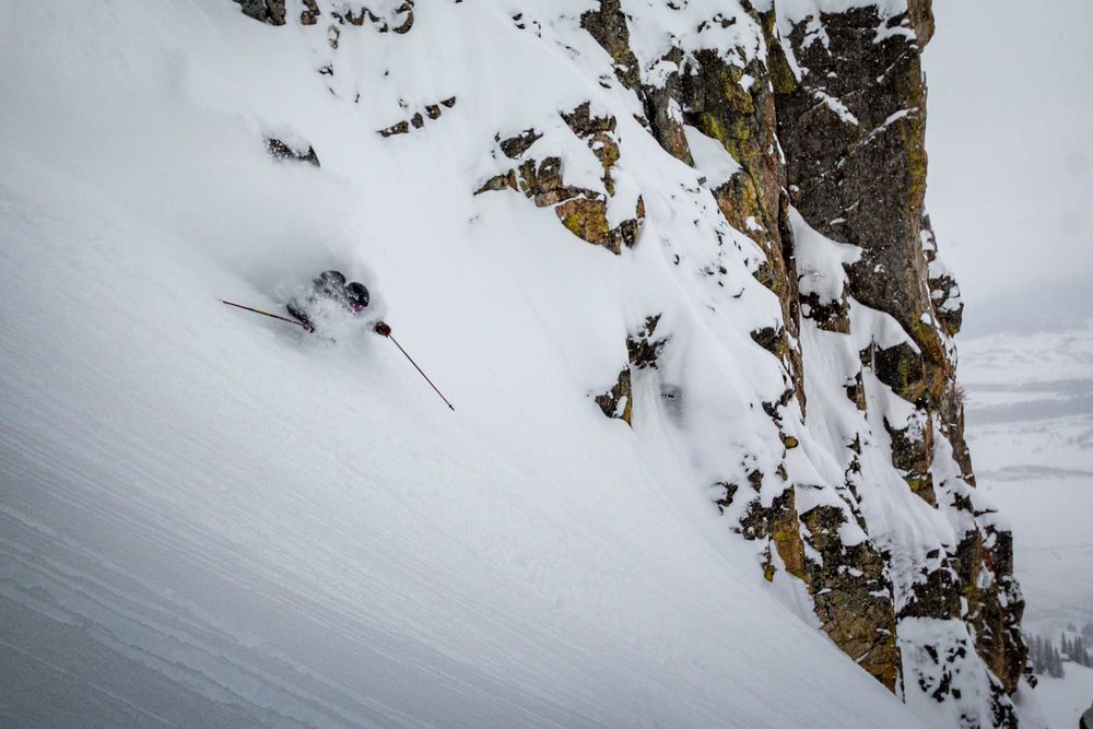 JH skiers take their spring turns seriously. - ©Jackson Hole Mountain Resort