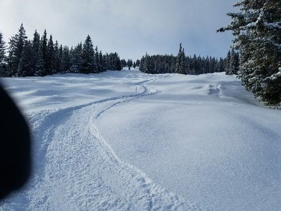 Copper Mountain Resort - Awesome day yesterday and this morning.  3