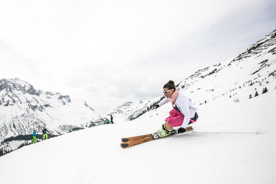 KÄSTLE Dirndl Skitag 2017