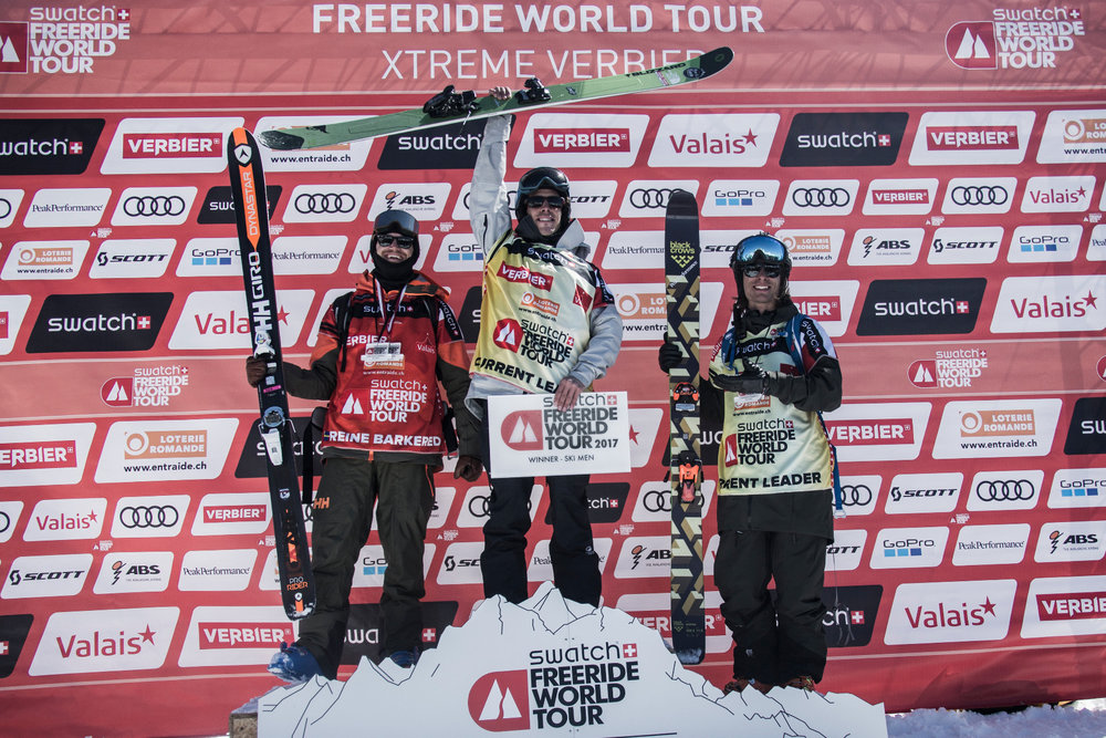 Swatch Freeride World Tour 2017 in Verbier - ©Freeride World Tour / D. Daher