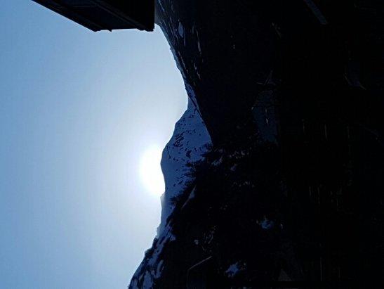 Valloire - coucher de soleil sur le Mont Galibier  - ©manu