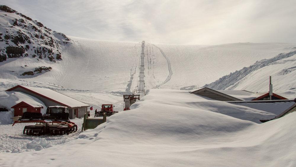 Fonna er klar for sommeren 2017 - ©Jan Petter Svendal