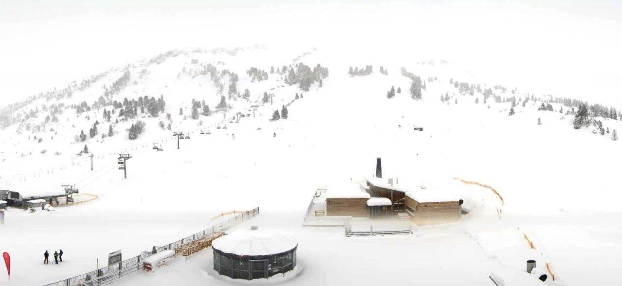 Neuschnee auch in Vorarlberg, hier in Warth-Schröcken - ©Facebook Warth-Schröcken
