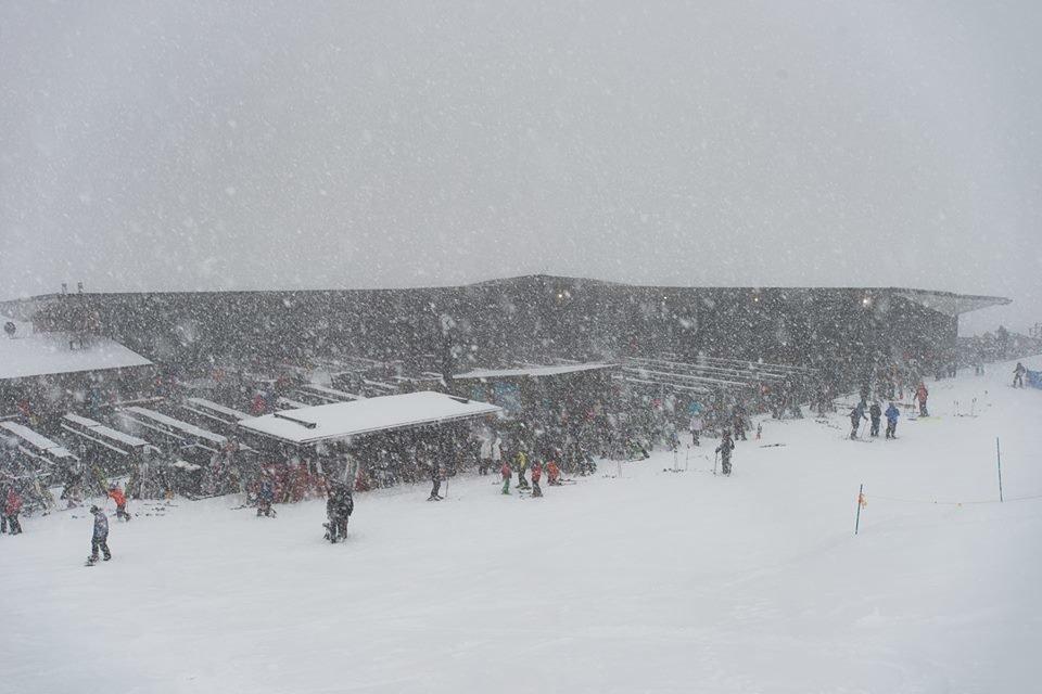 Neuschnee im Skigebiet Coronet Peak - ©Facebook Coronet Peak