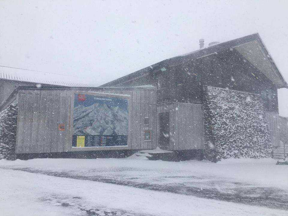 Neuschnee in Turoa in Neuseeland - ©Turoa Facebook