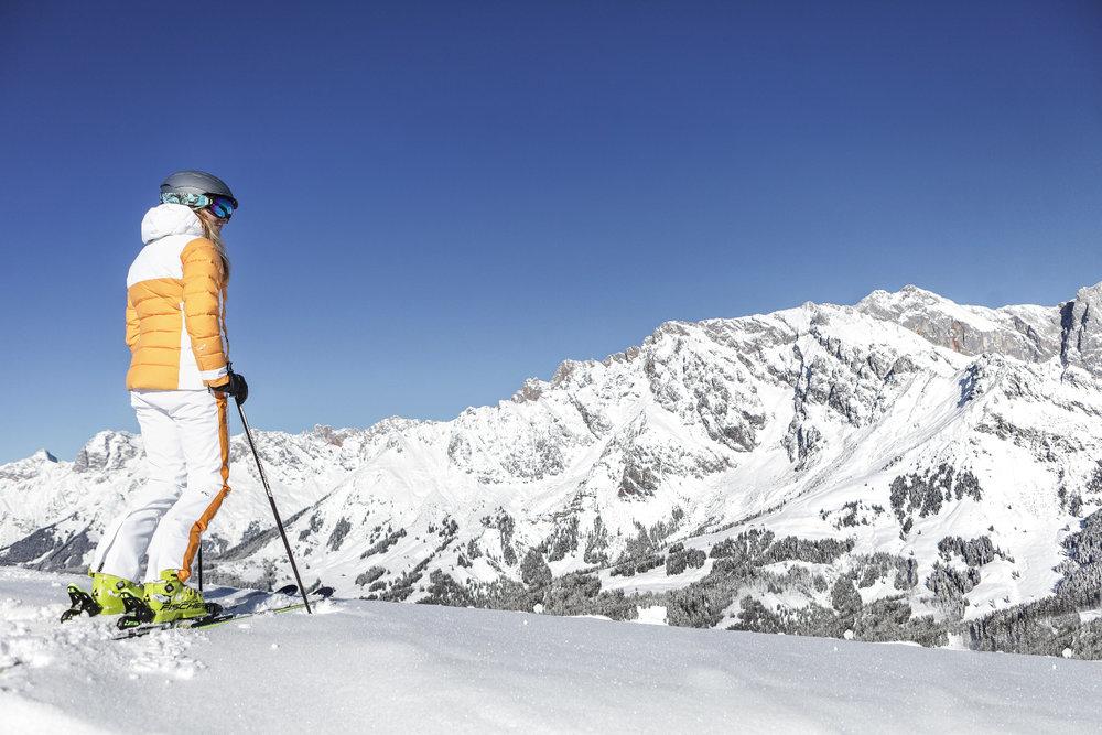 Skifahren im Skigebiet Hochkönig - ©Hochkönig Tourismus GmbH