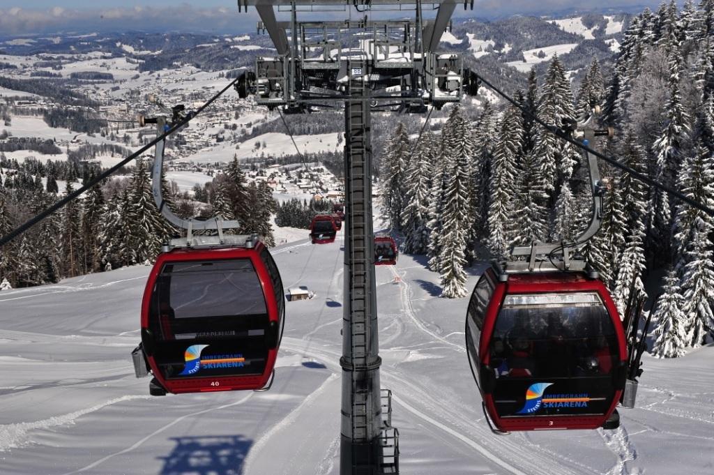 Die Imbergbahn in der Skiarena Steibis in Oberstaufen - ©www.allgaeubilder.info