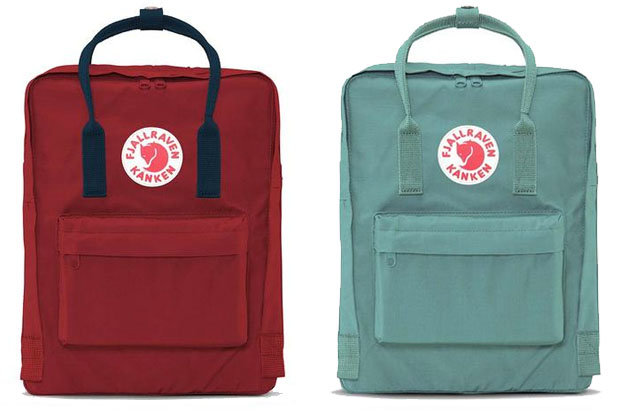 Fjällräven Kånken Backpack: $80 Originally designed for Swedish school children in 1978, the Kånken is made from moisture repelling Vinylon F fabric and comes in over 40 different colorways.