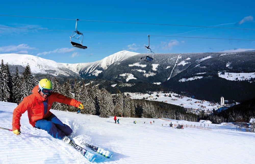 Lyžování ve střediscích SkiResortu ČERNÁ HORA - PEC bude tuto zimu zase o hodně příjemnější a pohodlnější - ©SkiResort Černá hora - Pec