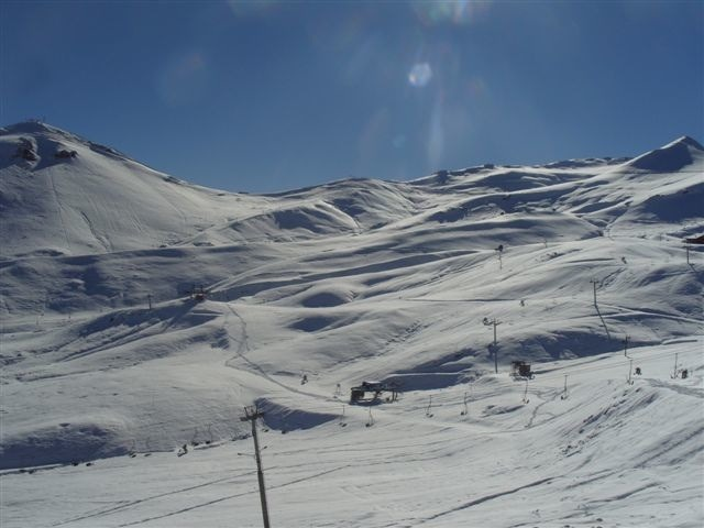 Scenic Valle Nevado, Chile