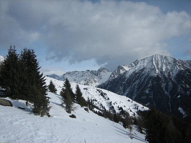Scenic view of Meransen, Italy