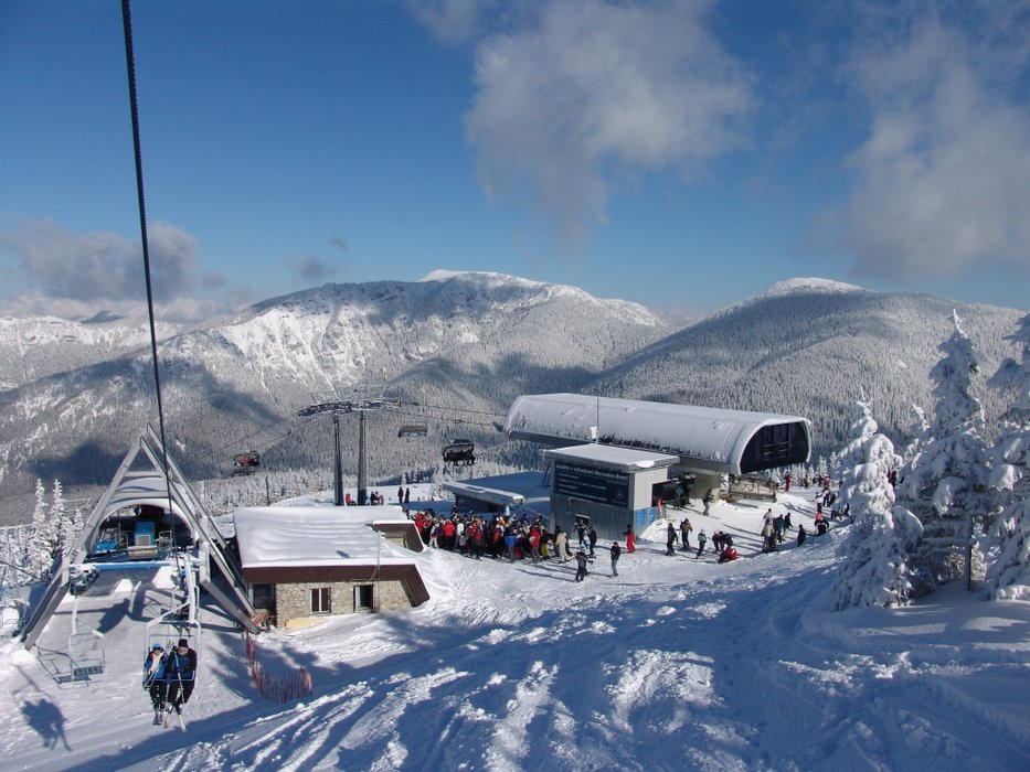 Lifts at Jasna, Slovakia.