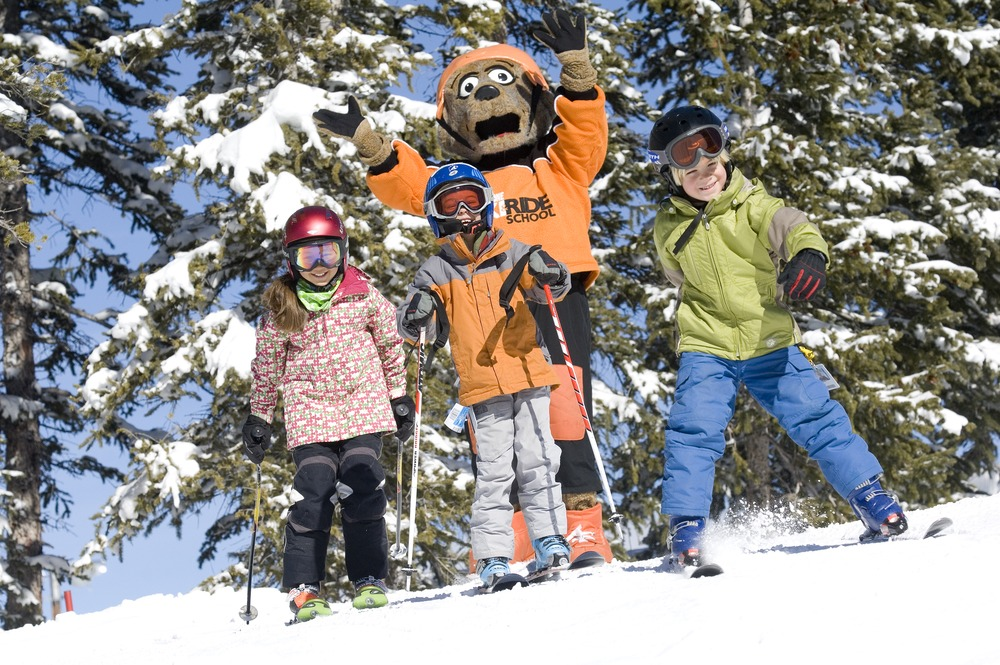 Kids with Riperoo at Keystone, Colorado, which is a favorite among our readers with kids. - ©Bob Winsett