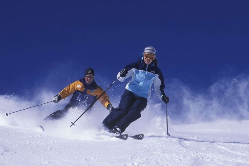 Ski lessons in Mammoth Mountain, California