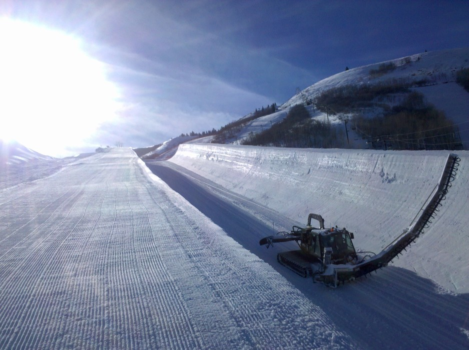 Park City superpipe