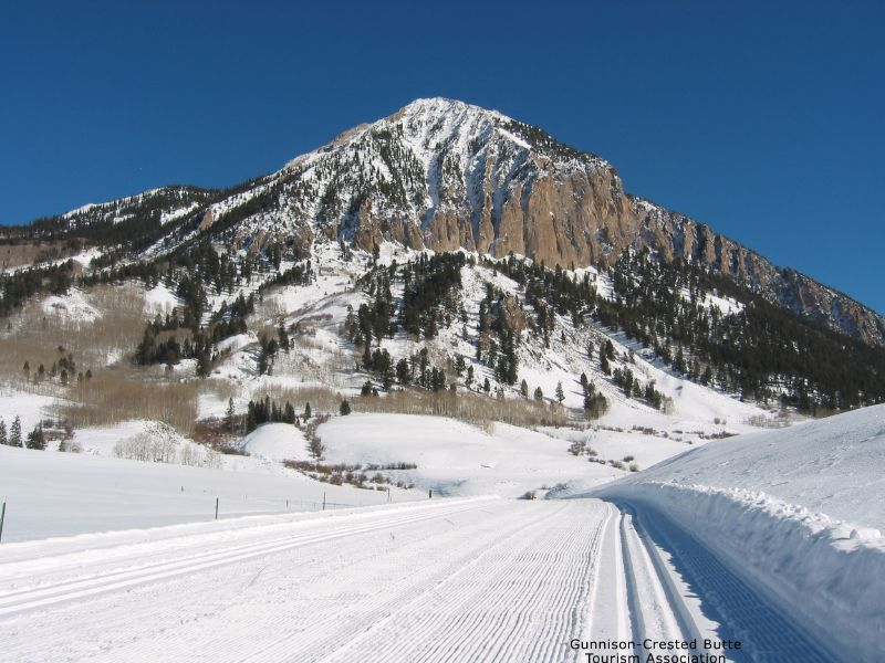 A scenic view in Crested Butte, Colorado
