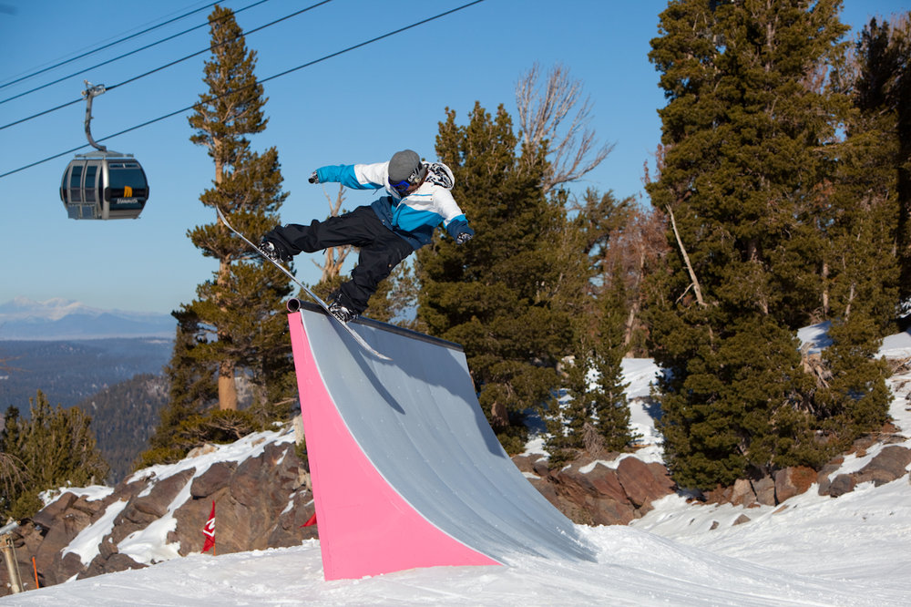 Mammoth Unbound has set the standard in terrain park design - ©Mammoth Mountain