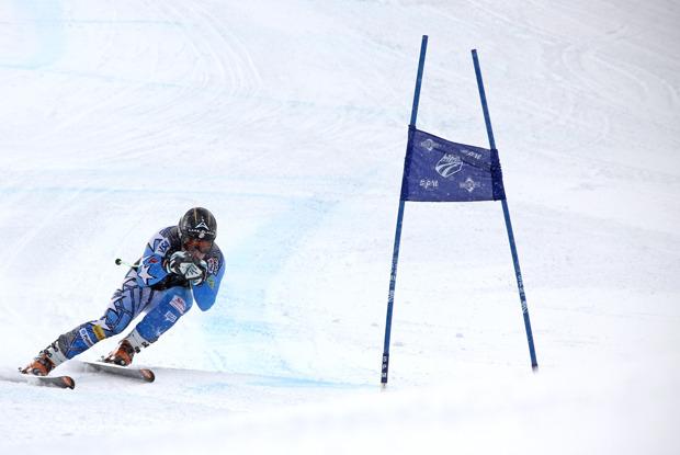 Bode Miller trains at the U.S. Ski Team Speed Center - ©Copper Mountain