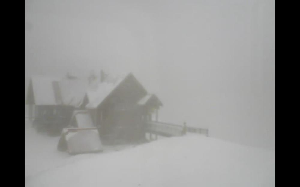More snow in BC at Kicking Horse.