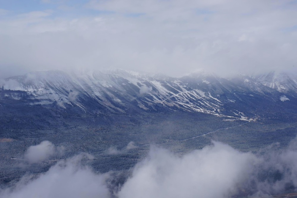 Snow filling in at Kicking Horse. Photo:Kicking Horse/Facebook